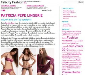 felicity fashion